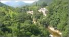 湯谷大橋から見た宇連川の渓谷