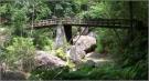新城・自然満喫の乳岩峡