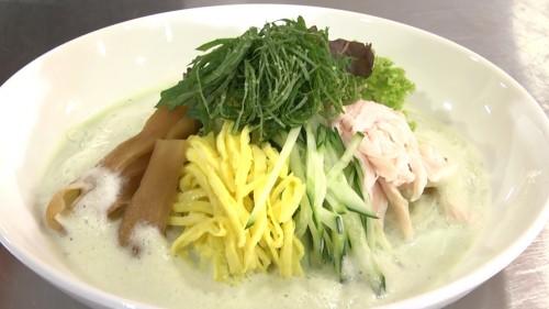 大葉スープの冷やし素麺