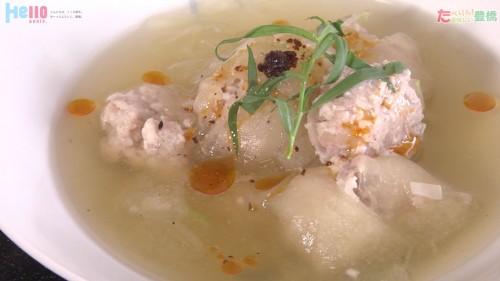 冬瓜の夏痩せスープ