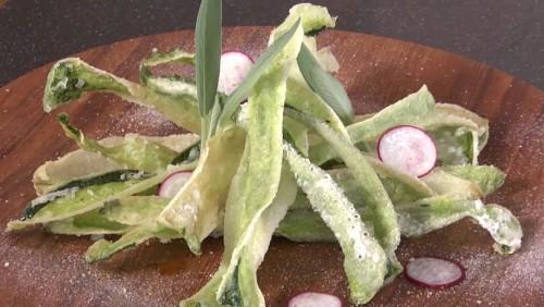 冬瓜の皮チップス