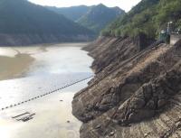 宇連ダム貯水率ゼロからの雨